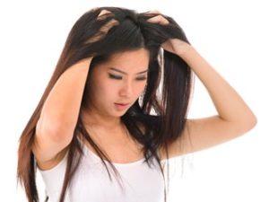 湿しんではなく頭皮にきびと判明